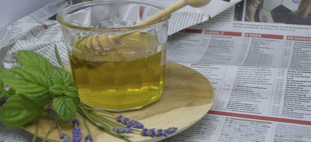 Mynte lavendel sirup