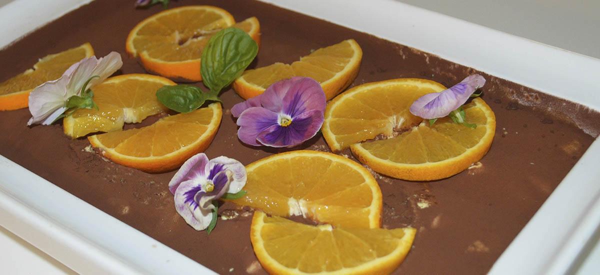 Tiramisu orange