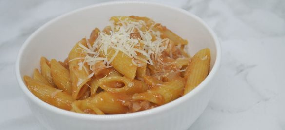 Bombolotti all'amatriciana