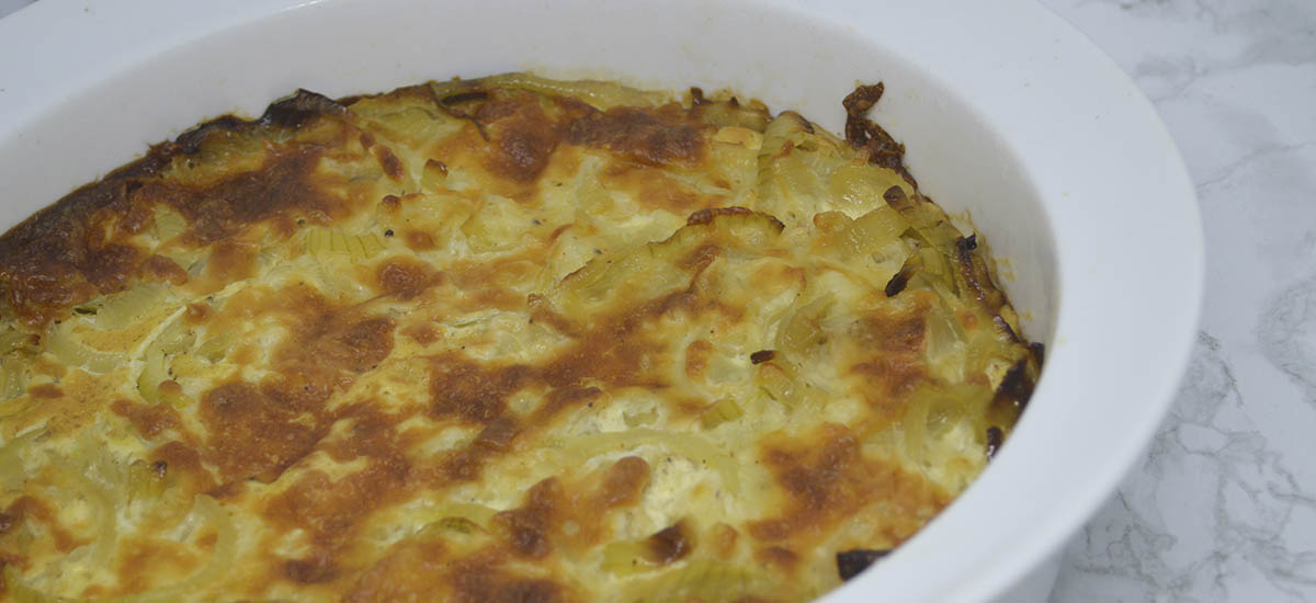 Løgtærte