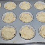 Muffins surprise - fyldet dækkes