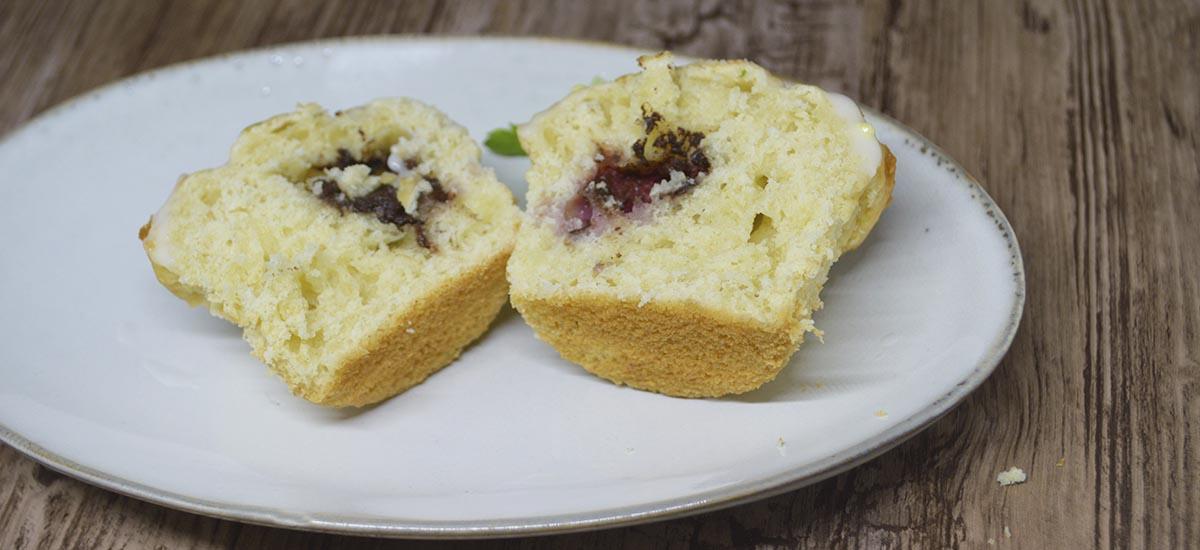 Muffins surprise - indeni