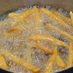 Sweet potato fries - stegning