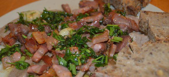 Italiensk kalvekød med pancetta