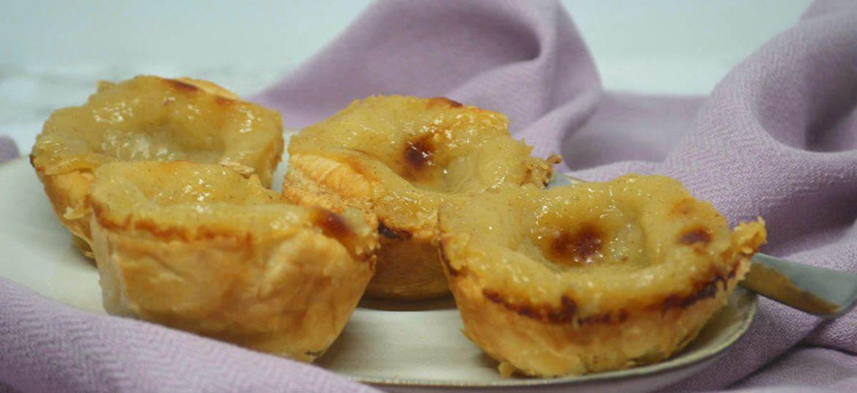 Portugisiske creme tærter