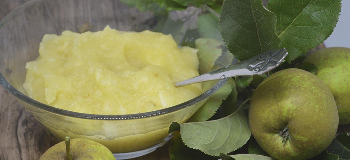 æblegrød Den Gode Gammeldags Slags Med Vanilje Hverdagsrodk