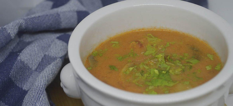 Spansk kyllingesuppe