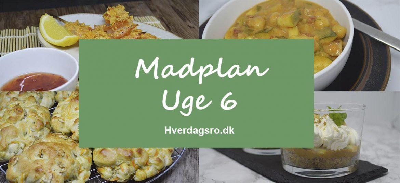 Madplan Uge 6