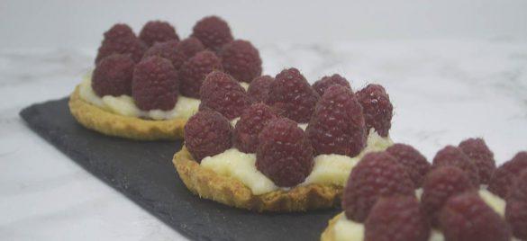 Hindbærtærter med nutella
