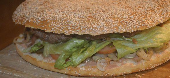 Kæmpe burger