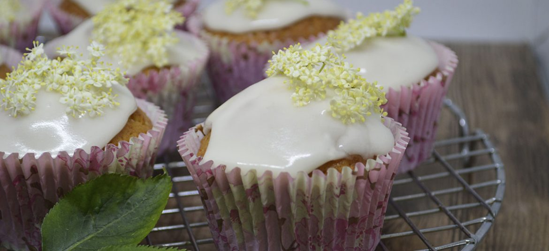 Hyldeblomst muffins