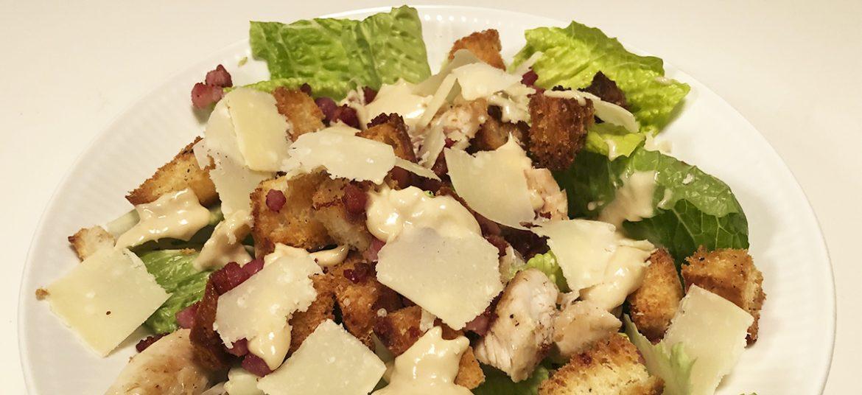 Dressing til Caesar salad